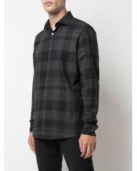 Camicia tartan di Ermenegildo Zegna in Multicolor da Uomo