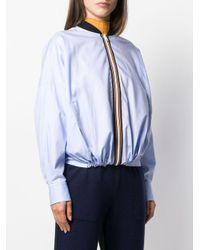 Mrz ボンバージャケット Blue