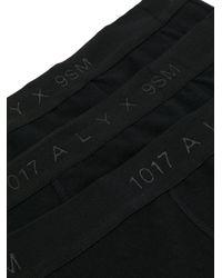 Boxer à logo 1017 ALYX 9SM pour homme en coloris Black