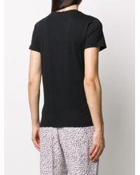 Lala Berlin ロゴ Tシャツ Black