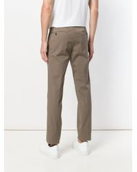 PT01 Multicolor Creased Slim Fit Trousers for men