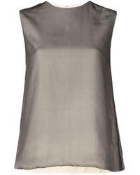 Блузка Celine Louis Vuitton, цвет: Multicolor