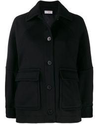 Alberto Biani オーバーサイズ ジャケット Black