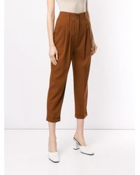 Nehera Brown Cropped-Hose