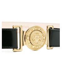 Cintura con logo di Balmain in Black