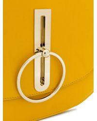 Nina Ricci - Yellow Compas Hobo Shoulder Bag - Lyst