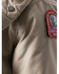 Parajumpers Natural Fur Trim Hooded Jacket