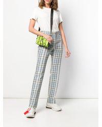 Pantaloni a vita alta di Off-White c/o Virgil Abloh in Multicolor