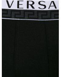 Versace - Black Logo Boxer Briefs for Men - Lyst