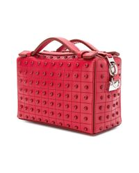 Tod's Red Micro Gommini Bag