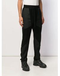 Pantalon de jogging à empiècements Forcerepublik pour homme en coloris Black