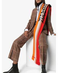 Burberry カシミア スカーフ Multicolor