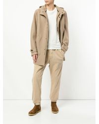 Sacai Brown Straight-leg Corduroy Trousers for men