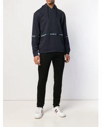Emporio Armani Black Slim Fit Jeans for men