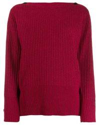 Джемпер В Рубчик Calvin Klein, цвет: Red