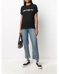Carhartt WIP ロゴ Tシャツ Black