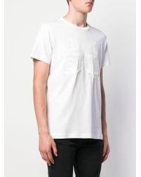 メンズ DIESEL プリント Tシャツ White