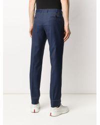 メンズ Brioni テーラード パンツ Blue