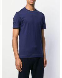 メンズ Brunello Cucinelli ジャージー Tシャツ Blue