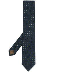 Cravatta a pois di Church's in Multicolor da Uomo
