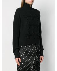 Karl Lagerfeld デコラティブ セーター Black