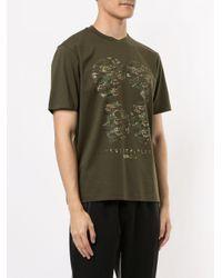 T-shirt à imprimé tête de mort Neil Barrett pour homme en coloris Green