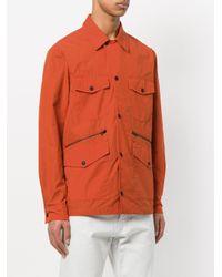 PS by Paul Smith Orange Lightweight Field Jacket for men