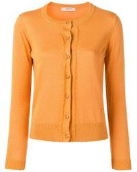 Cárdigan con cuello redondo Twin Set de color Orange