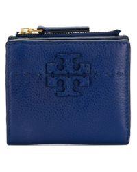 Tory Burch Blue Mini Wallet