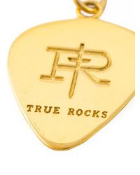 True Rocks Plectrum ネックレス Metallic