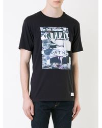 Camiseta con estampado de collage Hl Heddie Lovu de hombre de color Black