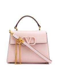 Valentino Vスリング ショルダーバッグ Pink