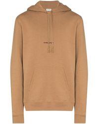 Худи С Логотипом Saint Laurent для него, цвет: Brown