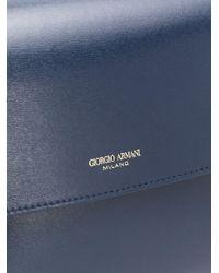 Sac porté épaule Prima Giorgio Armani en coloris Blue