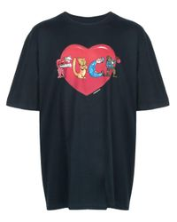T-shirt F* Love di Supreme in Blue da Uomo