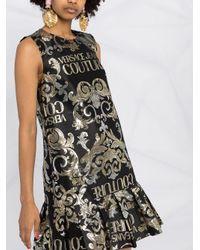 Versace Jeans バロッコプリント ドレス Black