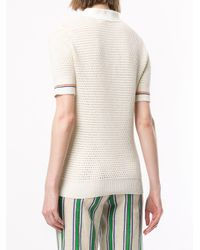 Tory Burch ニットポロシャツ Multicolor