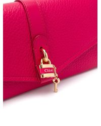 Chloé Aby ショルダーバッグ Pink