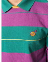 メンズ PUMA X The Hundreds ストライプ ポロシャツ Green