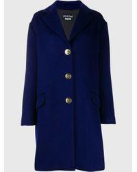 Boutique Moschino オーバーサイズ シングルコート Blue
