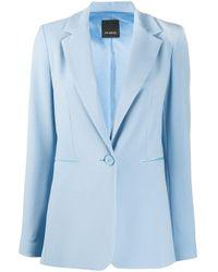 Pinko ロングライン ジャケット Blue