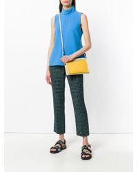 Anya Hindmarch Yellow Mesh Cross-body Bag