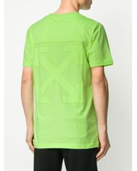 メンズ Off-White c/o Virgil Abloh Arrows Tシャツ Green