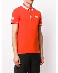 メンズ Lacoste ロゴ ポロシャツ Orange