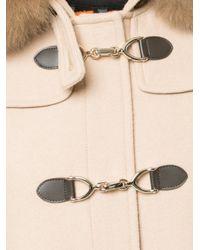 Guild Prime - Brown Hooded Duffle Coat - Lyst