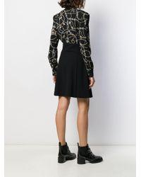 Vestito Jewel con stampa di Pinko in Black