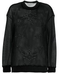 Stella McCartney スウェットシャツ Black