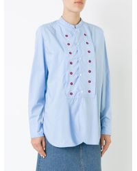 Jupe by Jackie - Blue Battle Shirt - Lyst