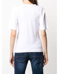 Emporio Armani ロゴ Tシャツ White