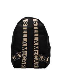 Stella McCartney Rugzak Met Logo in het Black